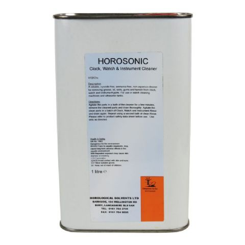 HOROSONIC Clock, Watch and Instrument Cleaner 1lt
